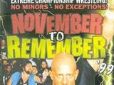 November to Remember 1999