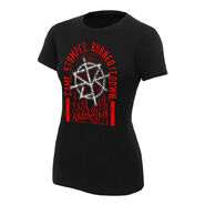 Seth Rollins Came. Stomped. Burned it Down Women's Authentic T-Shirt