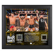 Team Ciampa WarGames 2019 15x17 Limited Edition Plaque