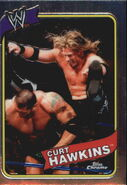 2008 WWE Heritage III Chrome Trading Cards Curt Hawkins 45
