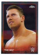 2015 Chrome WWE Wrestling Cards (Topps) The Miz 47