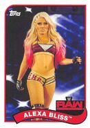 2018 WWE Heritage Wrestling Cards (Topps) Alexa Bliss 3