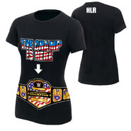 John Cena The United States Champ is Here Women's Authentic T-Shirt