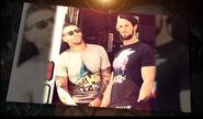 Seth Rollins (WWE Superstar Ink) 1