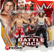 WWE Battle Packs 48 Shawn Michaels & Diesel