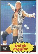 2012 WWE Heritage Trading Cards Dolph Ziggler 16