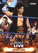 2013 TNA Impact Wrestling Live Trading Cards (Tristar) Zema Ion 56