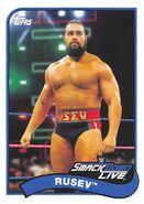 2018 WWE Heritage Wrestling Cards (Topps) Rusev 65