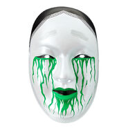 Asuka Green Plastic Mask
