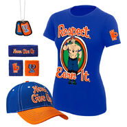 John Cena Respect. Earn It. Women's T-Shirt Package