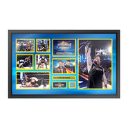 Kevin Owens WrestleMania 33 Signed Commemorative Plaque