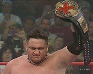Samoa Joe X Division