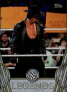 2018 Legends of WWE (Topps) Undertaker 69