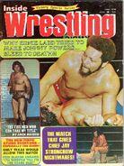 Inside Wrestling - June 1974