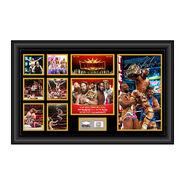 Kofi Kingston WrestleMania 35 Signed Commemorative Plaque