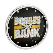 Sasha Banks 12 Chrome Wall Clock