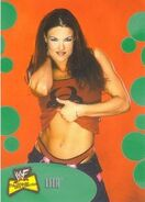 2001 WWF The Ultimate Diva Collection (Fleer) Lita 26