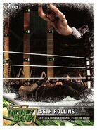 2017 WWE Road to WrestleMania Trading Cards (Topps) Seth Rollins 93