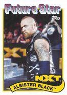 2018 WWE Heritage Wrestling Cards (Topps) Aleister Black 92