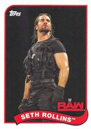 2018 WWE Heritage Wrestling Cards (Topps) Seth Rollins 70