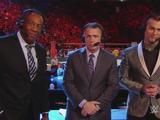 Michael Cole, Corey Graves & Booker T