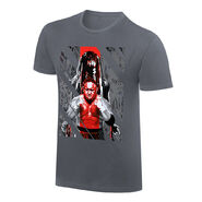 Finn Bálor & Samoa Joe Rob Schamberger Art Print T-Shirt