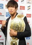 IWGP IC Champ Kota Ibushi