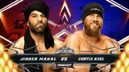 Jinder Mahal vs. Curtis Axel