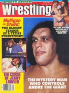 Sports Review Wrestling - April 1980