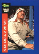 1991 WWF Classic Superstars Cards General Adnan 85