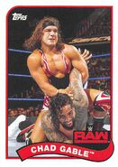 2018 WWE Heritage Wrestling Cards (Topps) Chad Gable 21