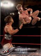 2018 WWE Wrestling Cards (Topps) Tyler Bate 95