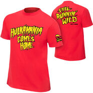 Hulk Hogan Hulkamania Comes Home T-Shirt