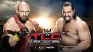 TLC 2015 Ryback v Rusev