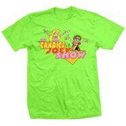 The Candice & Joey Ryan Show Cartoon T-Shirt