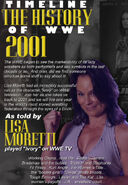 Timeline History of WWE - 2001 Lisa Moretti