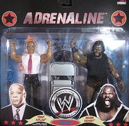 WWE Wrestling Adrenaline Series 36 Tony Atlas & Mark Henry