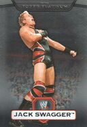 2010 WWE Platinum Trading Cards Jack Swagger 53