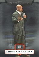 2010 WWE Platinum Trading Cards Theodore Long 65