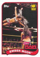 2018 WWE Heritage Wrestling Cards (Topps) Ember Moon 98