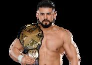 Andrade Cien Almas WWE NXT Championship v2