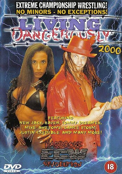 Image result for ecw living dangerously 2000