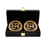 Seth Rollins WWE World Heavyweight Championship Replica Title Side Plate Box Set
