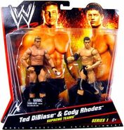 WWE Battle Packs 1 Ted DiBiase & Cody Rhodes