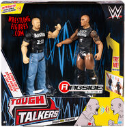 WWE Tough Talkers 1 The Rock & Steve Austin