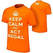 William Regal Keep Calm Orange T-Shirt