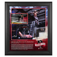 WrestleMania 36 Edge 15 x 17 Limited Edition Plaque