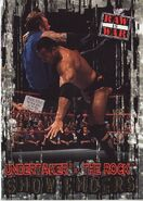 2001 WWF RAW Is War (Fleer) Undertaker vs. The Rock 93