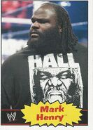 2012 WWE Heritage Trading Cards Mark Henry 26