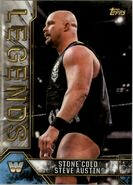 2017 Legends of WWE (Topps) Stone Cold Steve Austin 86
